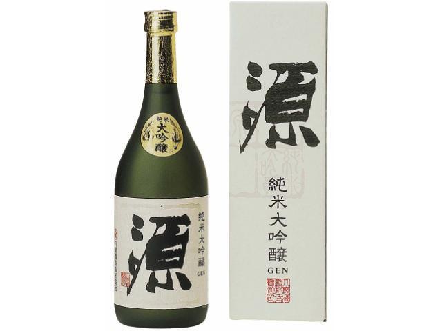日本酒の旨味を追求した八鹿の自信作 【純米大吟醸 源】 720ml