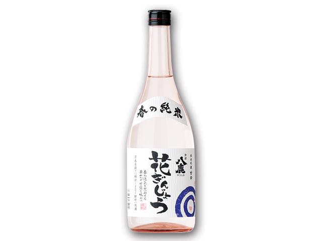 春風の様に爽やかな酸味♪【春の純米花ぎんじょう】 720ml