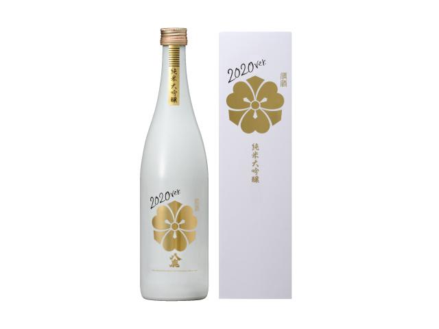 八鹿 純米大吟醸(金)WHITE BOTTLE2020ver.