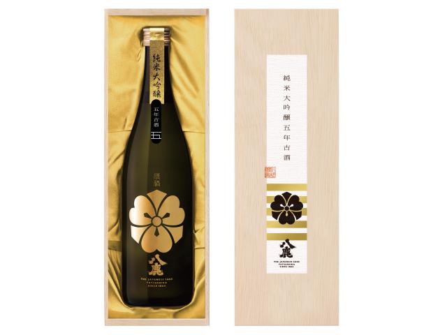 数量限定 【八鹿純米大吟醸(金)五年古酒】720ml