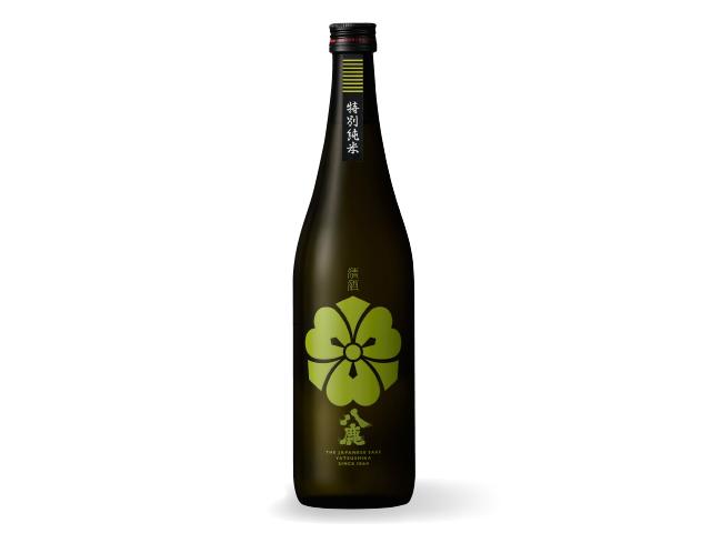 コクの、八鹿 【八鹿特別純米(緑)】 720ml