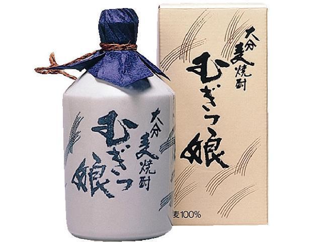 徳利入りの本格焼酎【むぎっ娘 徳利】 25度 720ml