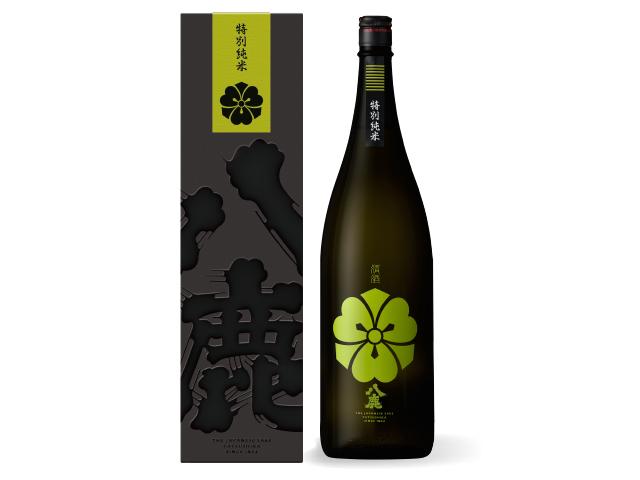 コクの、八鹿 【八鹿特別純米(緑)《カートン入》】 1800ml
