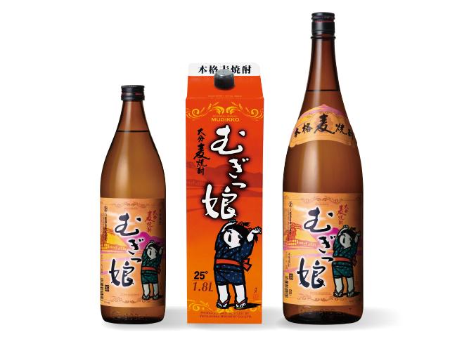 清酒蔵の元祖晩酌焼酎!【大分むぎっ娘】 25度