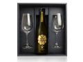 【ワイングラスでおいしい日本酒アワード2019 金賞受賞】八鹿 純米大吟醸(金) SAKEグラス2セットギフト