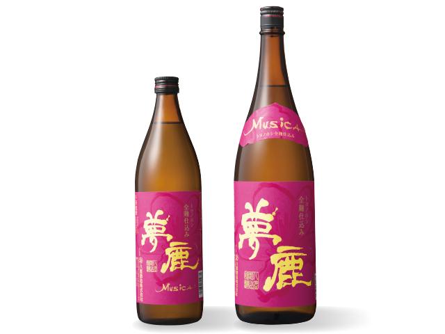 大分県オリジナル大麦《トヨノホシ》使用 本格麦焼酎 【夢鹿ムジカ】
