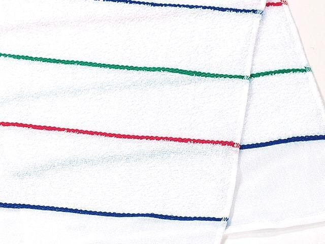 3色ラインタオル 標準厚 日本製