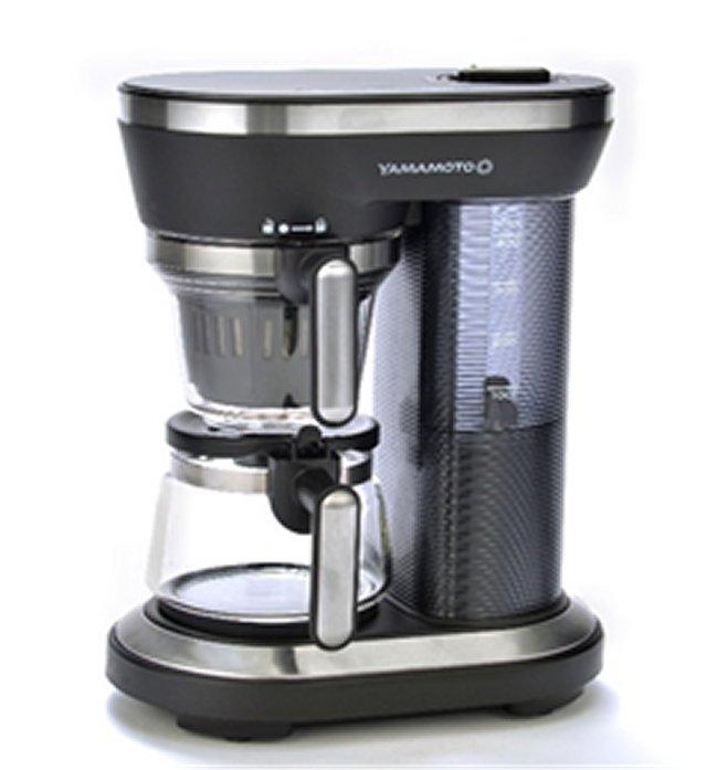 【送料無料】 YAMAMOTO コーヒーメーカー YS0005BK 全自動