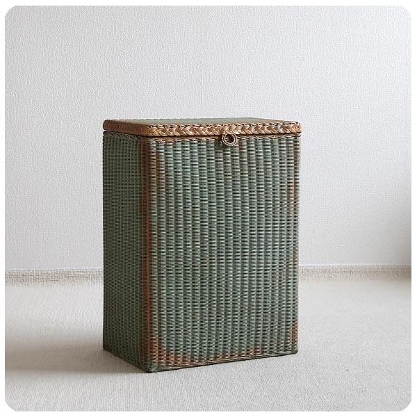 【訳あり】イギリス アンティーク ロイドルームランドリーバスケット/収納ボックス/LLOYD LOOM/家具 M-333
