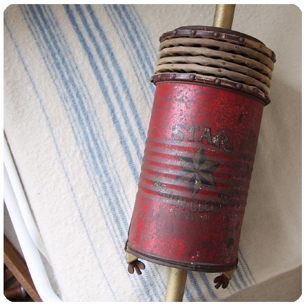 アンティーク バキュームクリーナー/イギリス/掃除機/ディスプレイ【Star Vacuum Cleaner】N-211