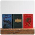 イギリス アンティークブック3冊セット/古本/古書/洋書/インテリア雑貨/書籍/ディスプレイ【Home Influence】M-128