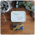 イギリス アンティーク タバコ缶2個セット/Ogdens Walnut Plug Sliced/TIN/ティン/ブリキ/雑貨【john player & sons】M-989