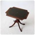 イギリス アンティーク調 Bevan Funnell社Reprodux レザートップテーブル/ワインテーブル【英国トラディショナル家具】M-991