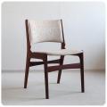 デンマーク ビンテージ ダイニングチェア/北欧家具/ローズウッド材×ファブリック【人気のミッドセンチュリー椅子】N-522