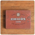 イギリス アンティーク シガレット缶/CHICOS/TIN/ティン/ブリキ/雑貨【シャビーで素敵なタバコ缶】N-613