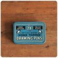 イギリス アンティーク 画鋲缶/ピン/ティン/ブリキ/雑貨/TIN/drawing pins【THE IVY SERIES No.73】N-666