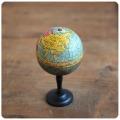 フランス アンティーク NK Atlas 地球儀/ディスプレイ/インテリア雑貨/グローブ【ノスタルジック玩具】N-760