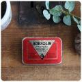 イギリス アンティーク ビタミンカプセル缶/ブリキ/TIN/小物入れ/コレクターズアイテム【Adexolin capsules】S-036