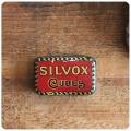 イギリス アンティーク スープキューブ缶/ティン/ブリキ/雑貨/TIN/小物入れ/OXOタイプ【SILVOX CUBES】S-038