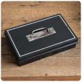 イギリス アンティーク キャッシュボックス/ツールボックス/雑貨/マネー/金庫/英国製/インテリア【アクセサリーなどの収納に】S-104