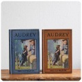 イギリス アンティークブック2冊セット/古本/古書/洋書/インテリア雑貨/書籍/ディスプレイ【AUDREY】S-144