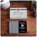 イギリス アンティーク タバコ缶ペア/シガレット缶/TIN/ティン/アルミ/雑貨【Marcovitch Black and White cigarettes】S-294