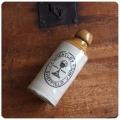 イギリス アンティーク ビアボトル/陶器製ビールボトル/花瓶/一輪挿し/雑貨【形やフロントロゴが可愛い古いボトル】S-331