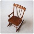 イギリス ビンテージ チャイルドロッキングチェア/スティックバック/木製/店舗什器/ディスプレイ【かわいい子供椅子】S-377