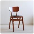 イギリス ヴィンテージ キッチンチェア/木製/北欧スタイル/店舗什器/ディスプレイ/おしゃれ椅子【フォルムが素敵】S-454