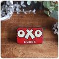 イギリス アンティーク OXO Cubes/オクソ缶/TIN/ティン/ブリキ/インテリア雑貨【コレクターが数多く存在するOXO缶】S-475