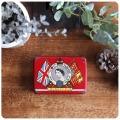 イギリス アンティーク OXO Cubes/オクソ缶/TIN/ティン/ブリキ/スープキューブ/雑貨【エリザベス女王戴冠記念缶】S-476