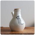 英国アンティーク インヘラー/吸入器/イギリス/花瓶/フラワーベース/インテリア雑貨/陶器/ロゴ【DR.NELSON'S】S-562