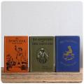 英国 アンティーク ブック3冊セット/古本/古書/洋書/インテリア雑貨/書籍/ディスプレイ/イギリス【The Talisman】S-594