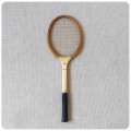 イギリス ビンテージ テニスラケット/木製/インテリア雑貨/ディスプレイ/店舗什器/コレクター【使い込まれた風合いが素敵】S-677