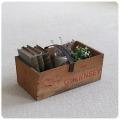 英国 アンティーク ウッドボックス/バスケット/トマト/木箱/籠/オールドパイン/イギリス【Guernsey Tomatoes Box】S-785