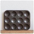 イギリス アンティーク ベーキングティン/焼き型/菓子型/キッチンツール/雑貨/ディスプレイ/ブリキ【SEAMLESS HYGIENIC】S-862