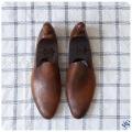 イギリス アンティーク 靴型/シューモールド/シューキーパー/オブジェ/インテリア雑貨/無垢/古木【ブロカント】S-967