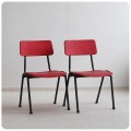 イギリス ビンテージ Remploy社 スタッキングチャイルドチェア2脚セット/ミッドセンチュリー【カラフルな子供椅子】Y-452