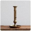 フランス アンティーク ブラス製キャンドルスタンド/インテリア/真鍮/燭台【キャンドルナイトにいかがですか?】Y-515
