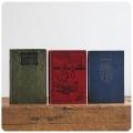 イギリス アンティークブック3冊 Y-931
