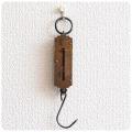 ドイツ製 アンティーク ポケットバランス/スプリングバランス/ハンギングスケール/吊りはかり/ブラス/真鍮【POCKET BALANCE】Z-091