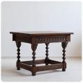 イギリス アンティーク調 Old Charm (オールドチャーム) コーヒーテーブル/サイドテーブル/英国製【伝統的なオーク材家具】Z-093