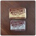 イギリス アンティーク トローチ缶2個セット/TIN/ブリキ缶/インテリア雑貨/のど飴/薬/小物入れ【MEGGEZONES】Z-100
