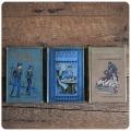 イギリス アンティークブック 3冊セット/古本/古書/洋書/インテリア雑貨/書籍/ディスプレイ【Poppy's presents】Z-122