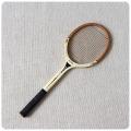 イギリス ヴィンテージ 木製 テニスラケット/ダンロップ/インテリア/Dunlop/ディスプレイ/おしゃれ【雰囲気パーフェクト】Z-167