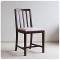 イギリス アンティーク ダイニングチェア/ファブリックシート/木製椅子/英国製/オーク材家具【木目や座面が素敵なイス】Z-305