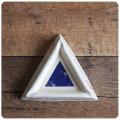 イギリス ビンテージ T.G.Green Bass アッシュトレイ/灰皿/陶器/アクセサリー置き/インテリア雑貨【BLUE TRIANGLE】Z-307