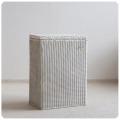 イギリス アンティーク ロイドルーム ランドリーバスケット/収納ボックス/LLOYD LOOM/ペイント家具【お部屋のアクセントに】Z-324