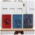 イギリス アンティーク ブック 3冊セット/古本/古書/洋書/インテリア雑貨/書籍/ディスプレイ/オブジェ【A HEART OF GOLD】Z-328