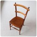 イギリス アンティーク ベッドサイドチェア/木製椅子/家具/店舗什器/ディスプレイ/古木【雰囲気パーフェクト】Z-348